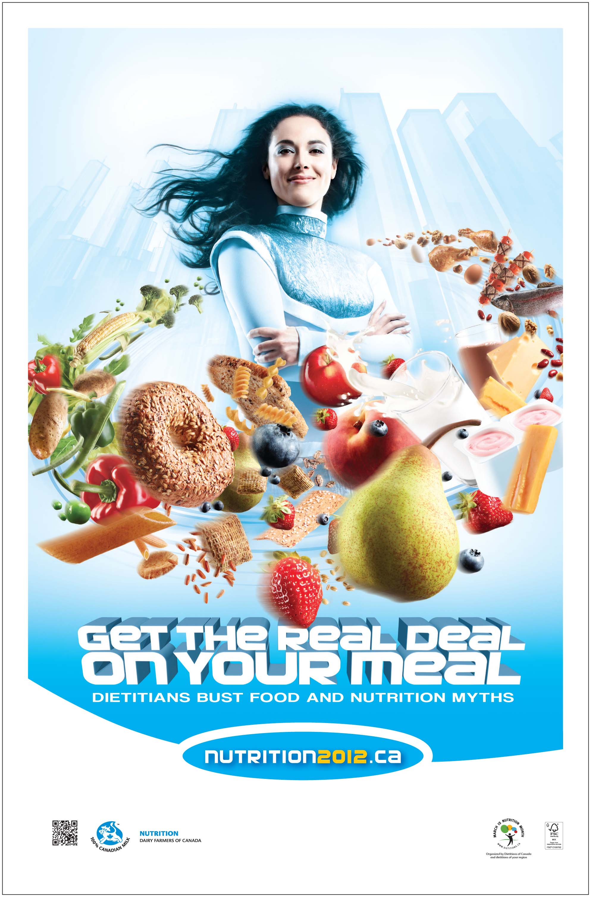 Healthy Lifestyle Poster - Viewing Gallery